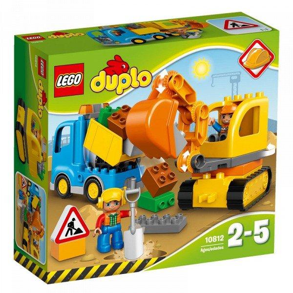 10812 LEGO® DUPLO Sunkvežimis ir vikšrinis ekskavatorius