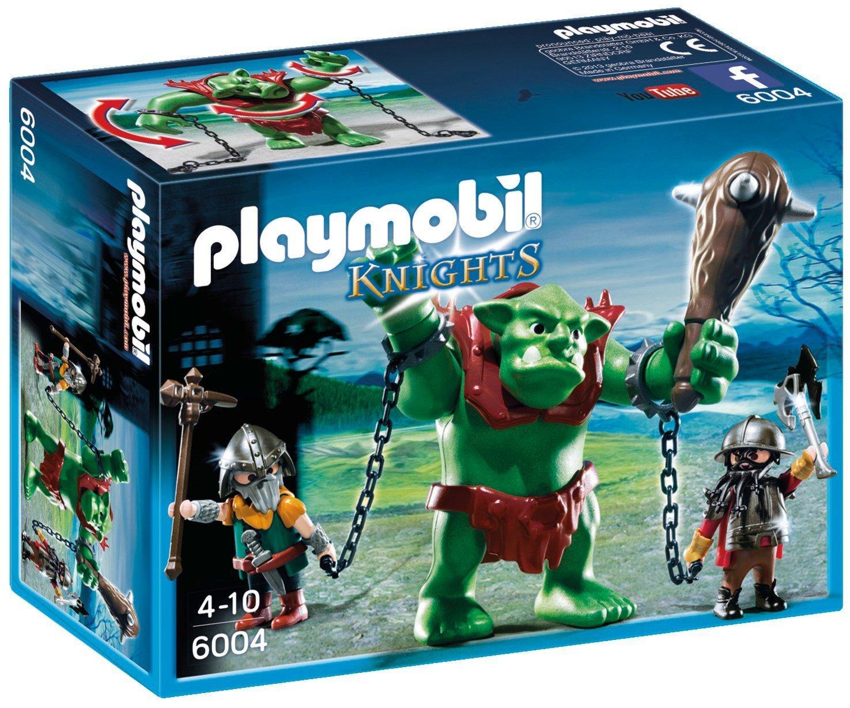 6004 PLAYMOBIL® Knights, Milžinas trolis ir neūžaugos riteriai