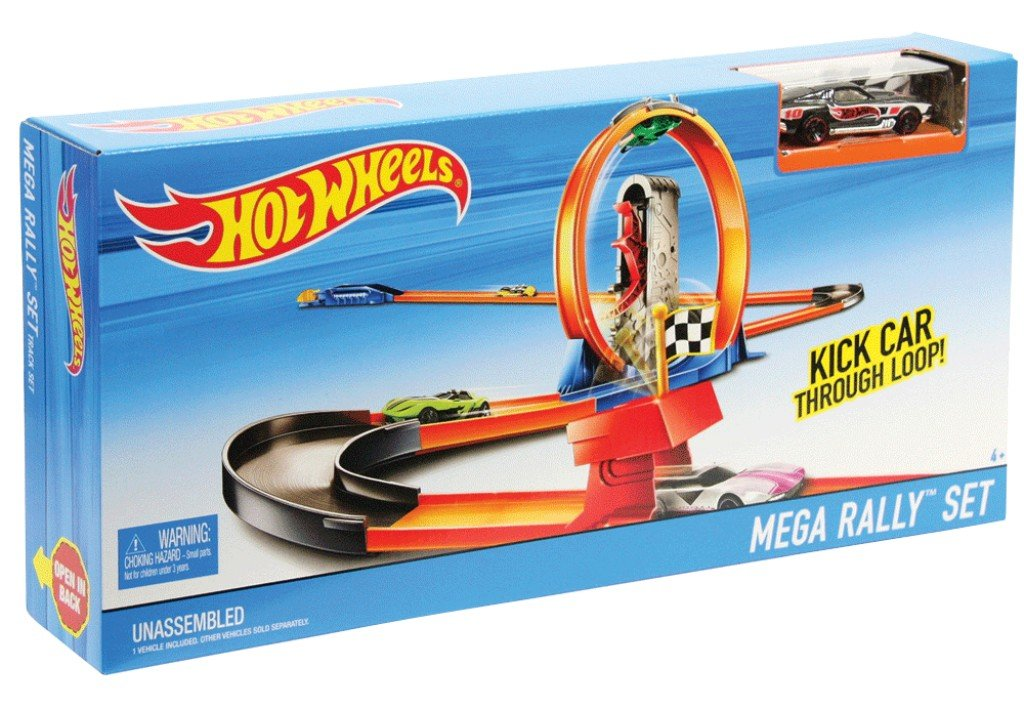 Trasa su dviem automobiliais Hot Wheels, DNN81