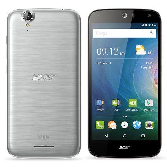 Acer Liquid (Z630) Dual SIM 16GB, Sidabrinė