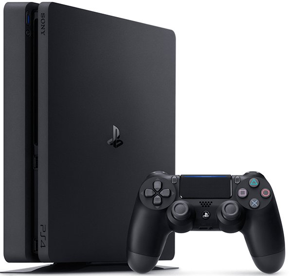 Sony PlayStation 4 (PS4) Slim, 500 GB