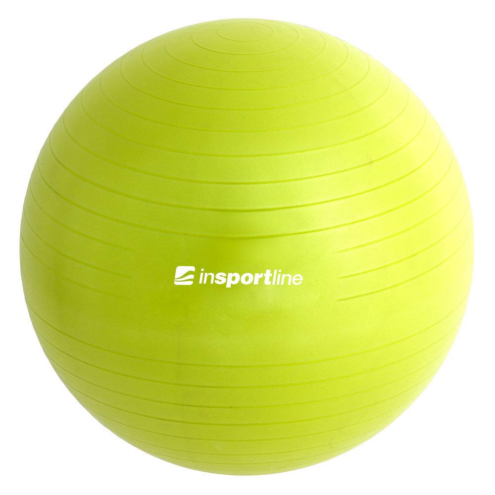 Gimnastikos kamuolys inSPORTline 55 cm su pompa