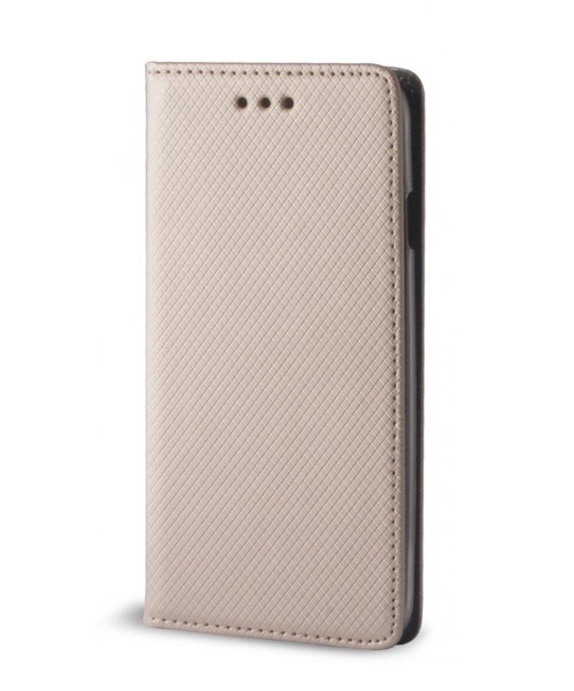 Apsauginis dėklas-stovas GreenGo GSM015703 skirtas Huawei P8 lite, auksinė