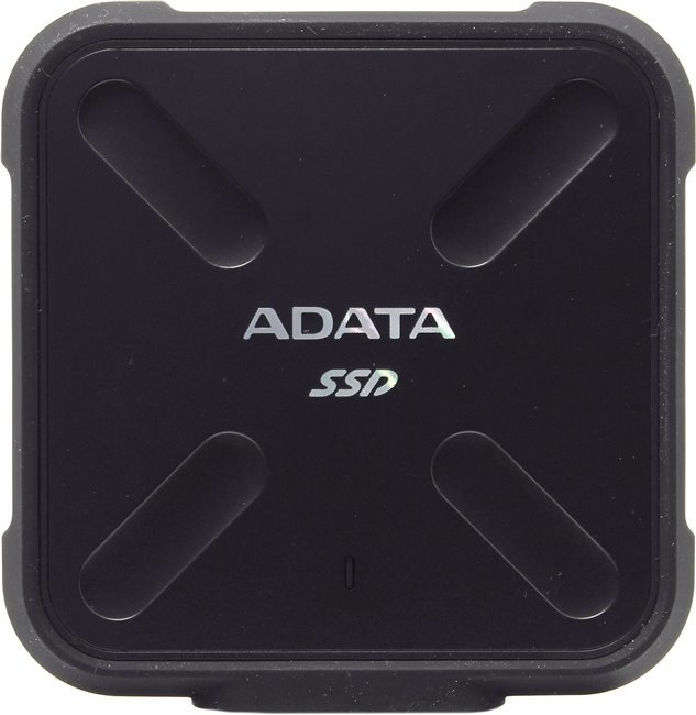 Adata External SSD SD700 512 GB, USB 3.1, Juoda