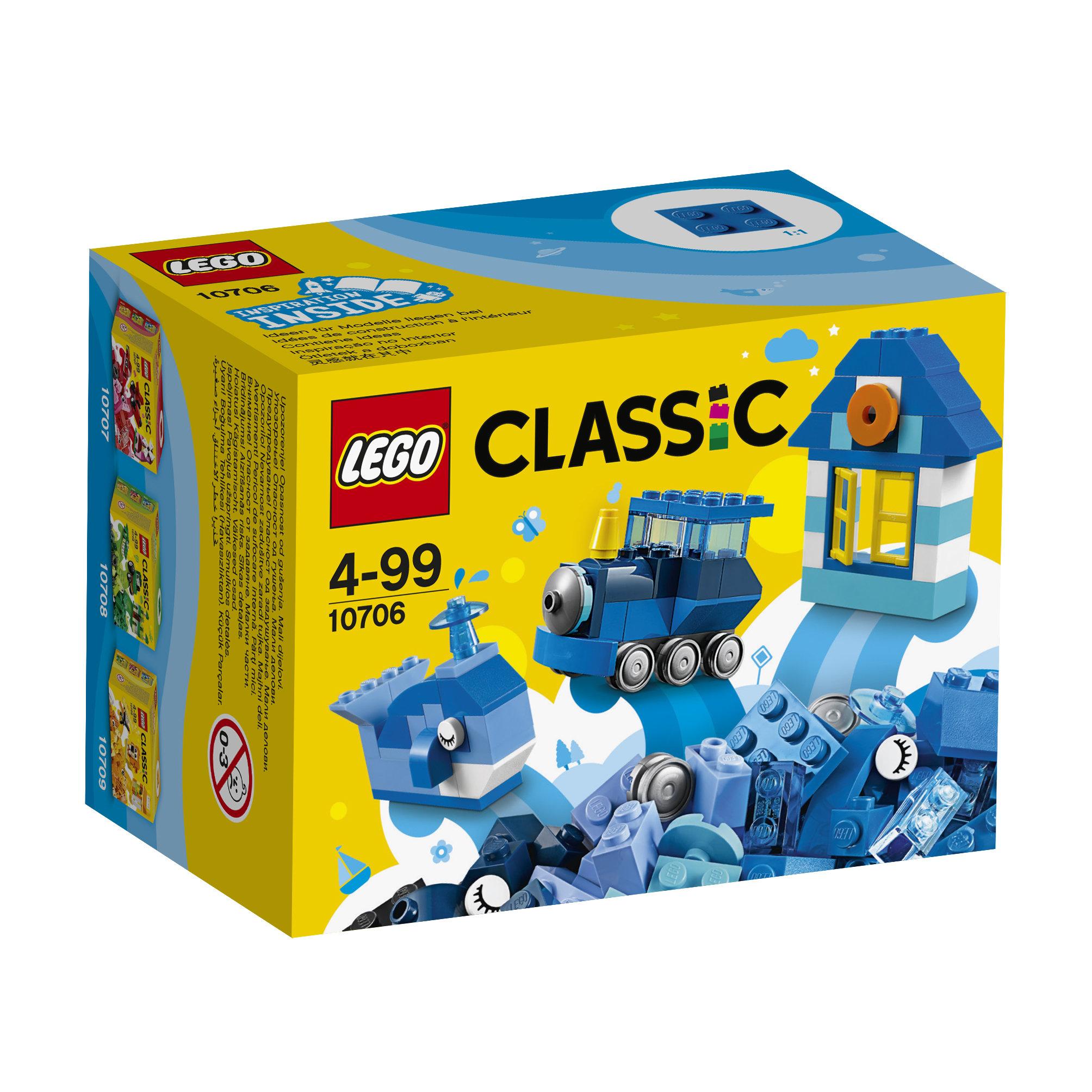 10706 LEGO® CLASSIC Mėlynoji kūrybos dėžutė