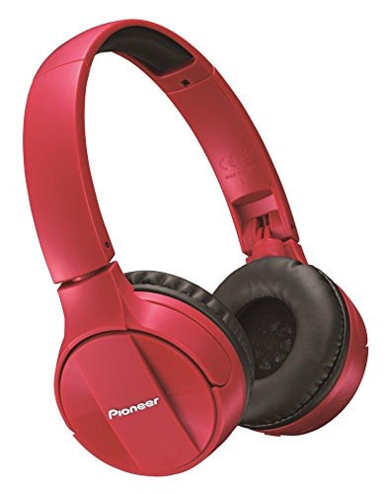 Bluetooth ausinės Pioneer SE- MJ553 BT-R, Bluetooth 3.0, raudona