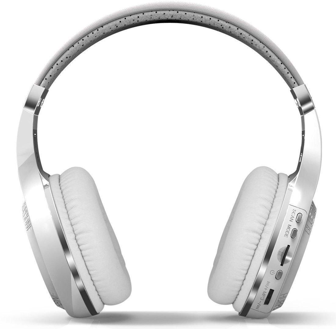 Ausinės BLUEDIO HT TURBINE su Bluetooth, baltos