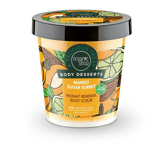 Atstatantis šveitiklis kūnui Organic Shop Body Desserts 450 ml