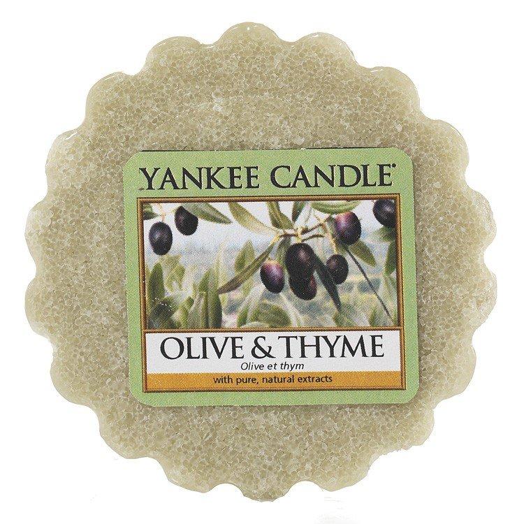 Aromatinis vaškas Yankee Candle Olive&Thyme