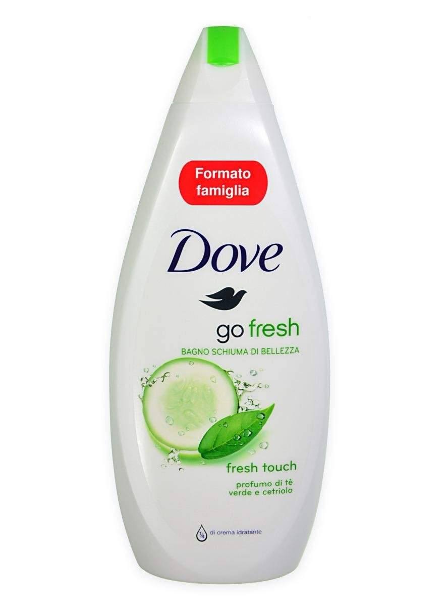 Vonios putos Dove Go Fresh Caring Bath Cucumber 700 ml