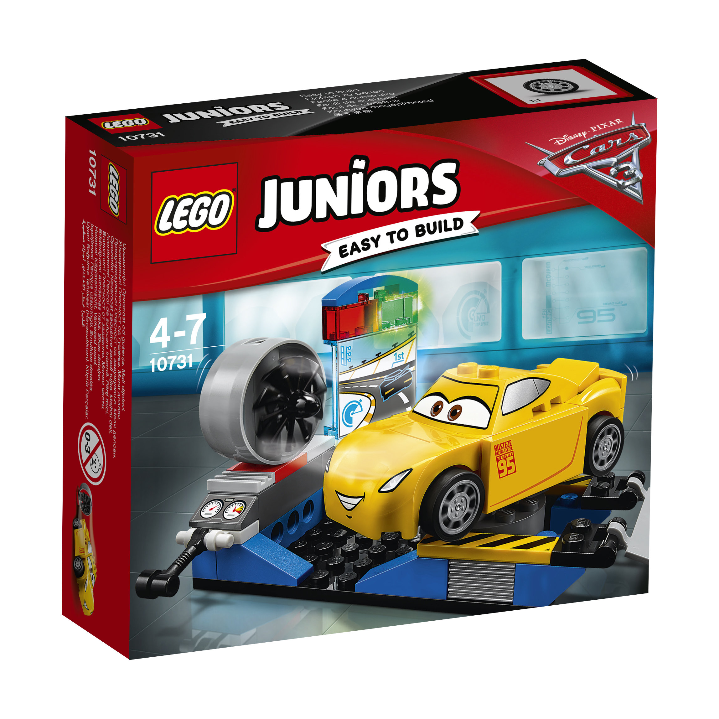 10731 LEGO® JUNIORS Cruz Ramirez lenktynių simuliatorius