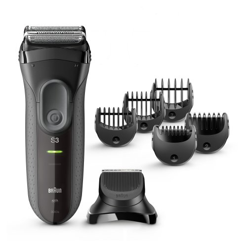 Barzdaskutė Braun Series 3-3000 BT
