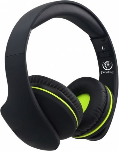 Rebeltec VIRAL Bluetooth 4.2 Headsets with Mic Black