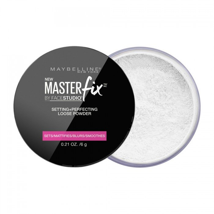 Biri pudra Maybelline Master Fix Setting + Perfecting Loose Powder 6 g