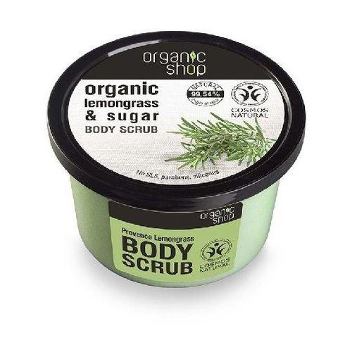Kūno šveitiklis su citrinžolės aliejumi Organic Shop 250 ml