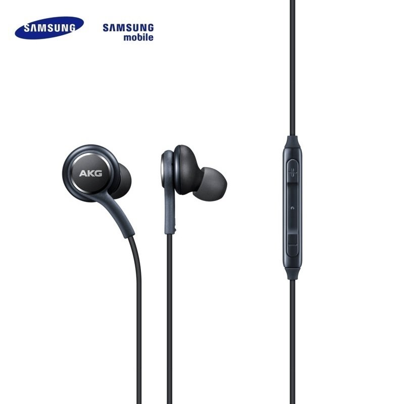 Samsung EO-IG955 AKG for Galaxy S8 / S8+ Stereo 3.5mm Headset with Microphone 1.2m Cable Black (OEM)