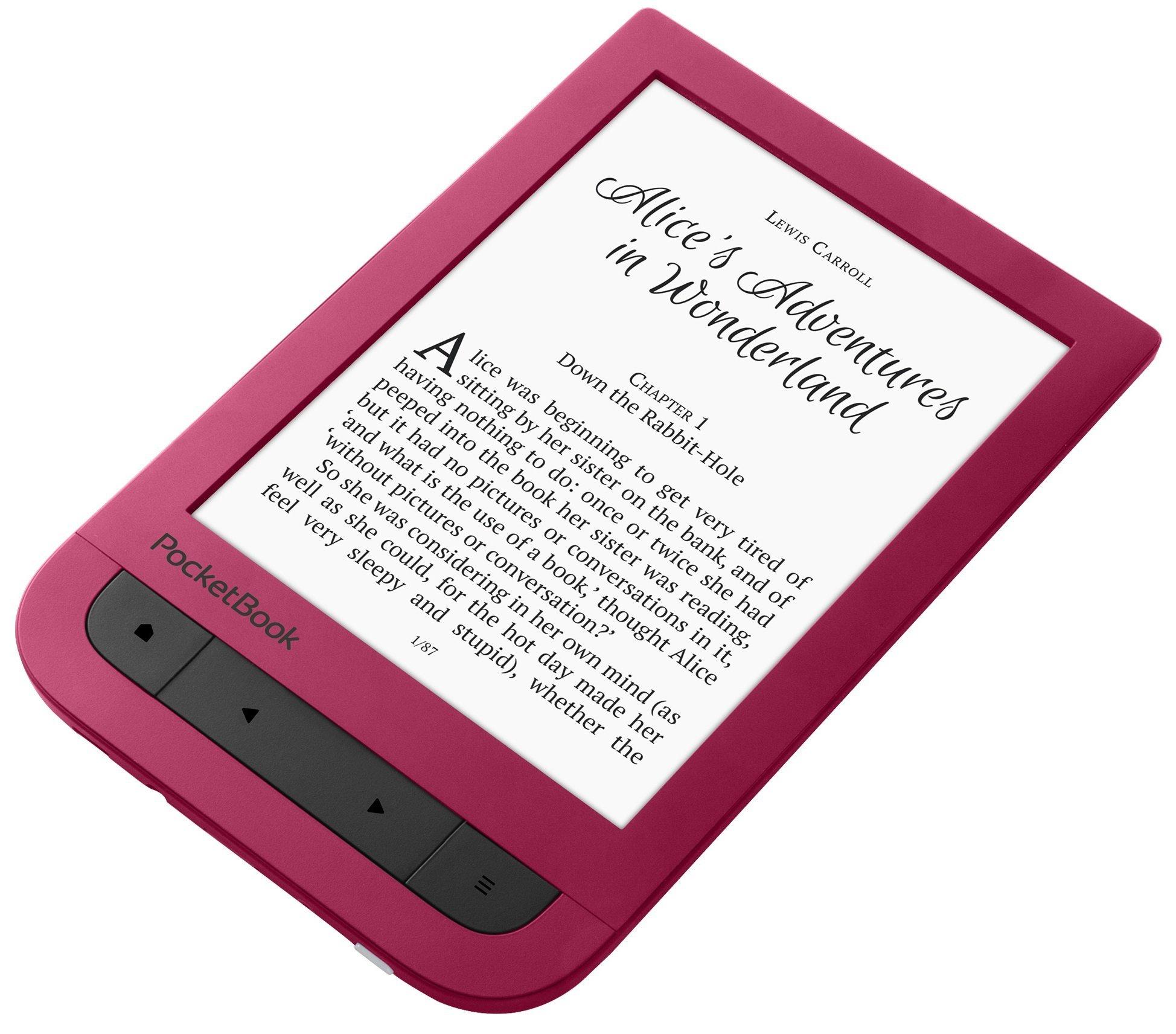 PocketBook Touch HD 631, Raudona