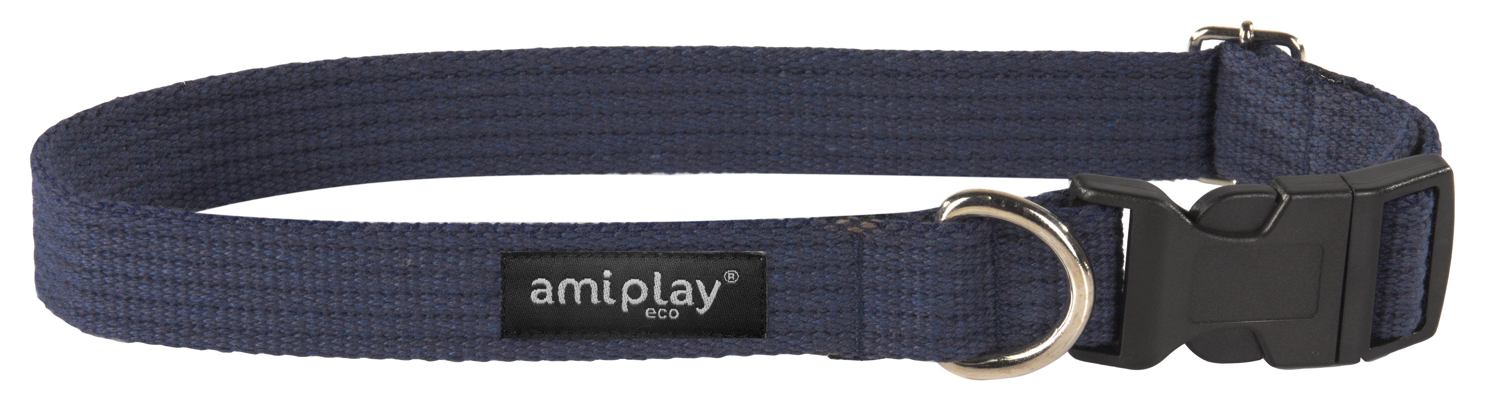 Amiplay medvilninis antkaklis, L, tamsiai mėlynas