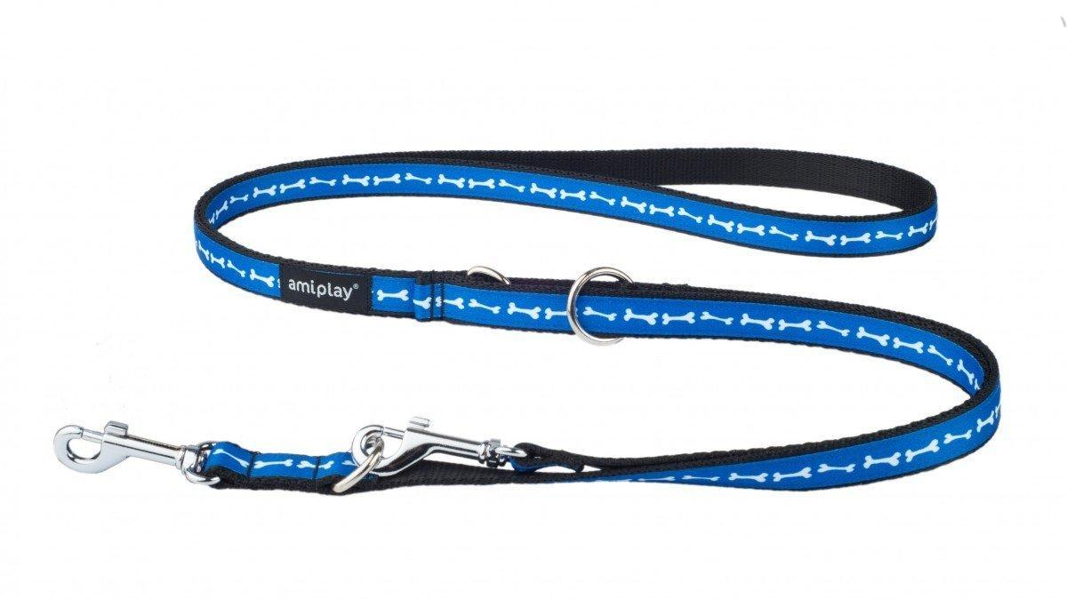 Amiplay pavadėlis 6 in 1 Joy, M, mėlyni kauliukai