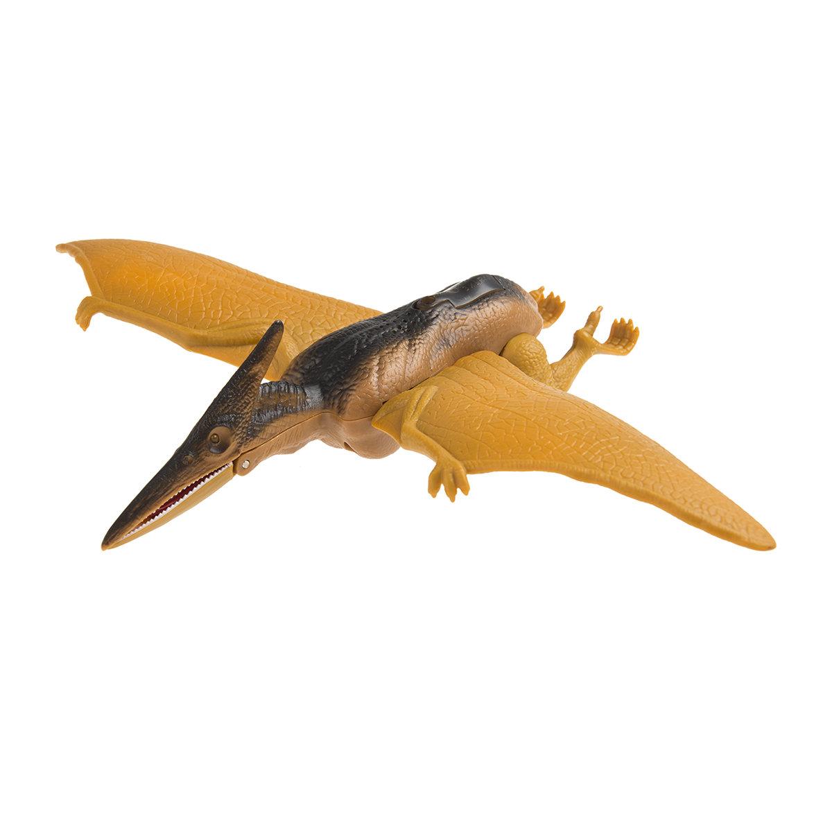 Pteranodon maxisaur dinozauras su šviesomis ir garsais, Smiki