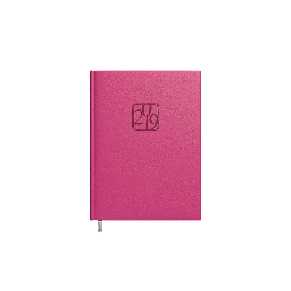 Darbo kalendorius Timer Kancleris Day, 2019 metai, A5, rožinis