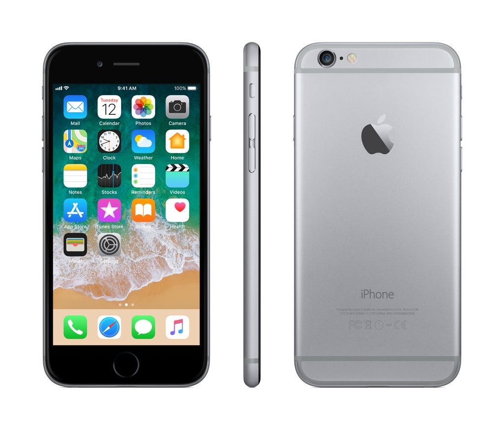 Apple iPhone 6 32GB, Pilka