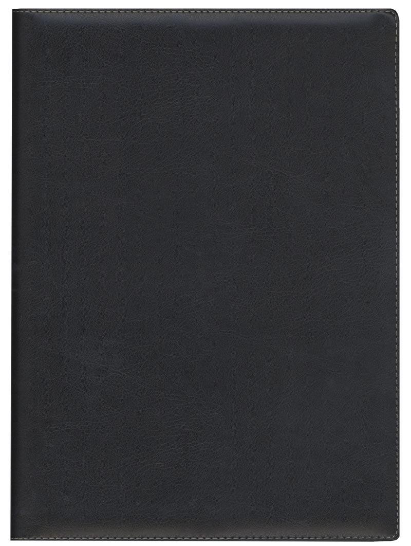 Darbo kalendorius Timer Senator Day Spirex, 2019 metai, A4, juodas