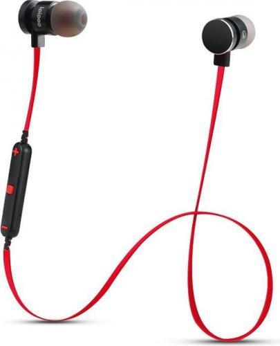 Bluetooth ausinės Ipipoo il93BL, Bluetooth 4.2, juoda-raudona