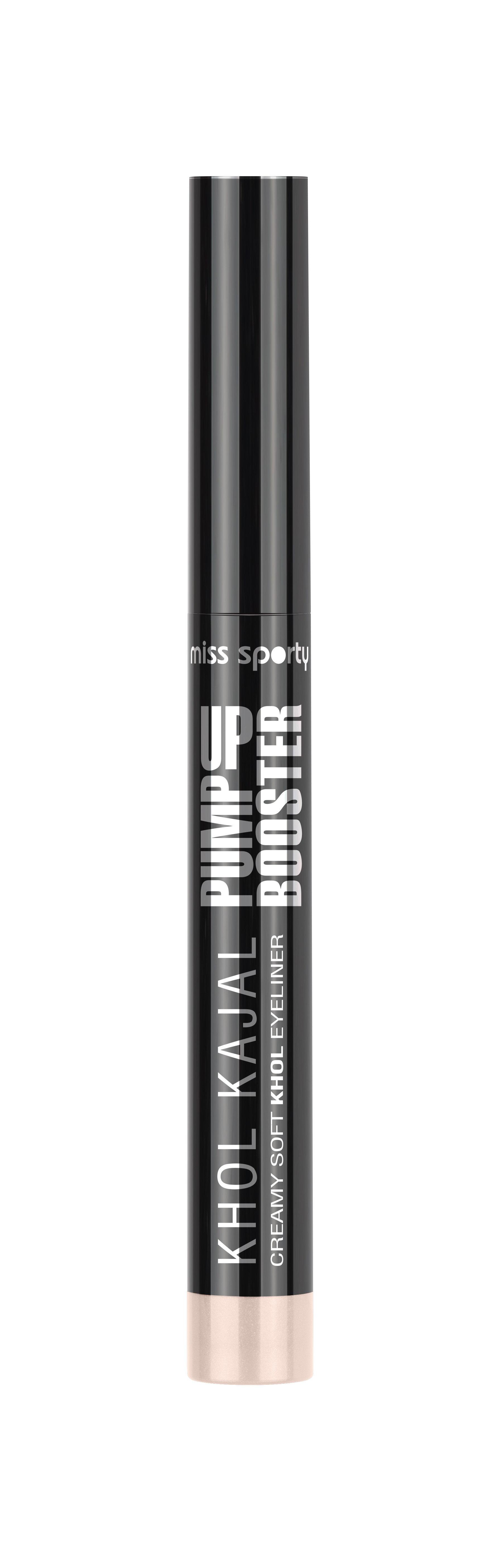 Akių kontūro pieštukas Miss Sporty Pump Up Booster Kohl Kajal 2.2 g