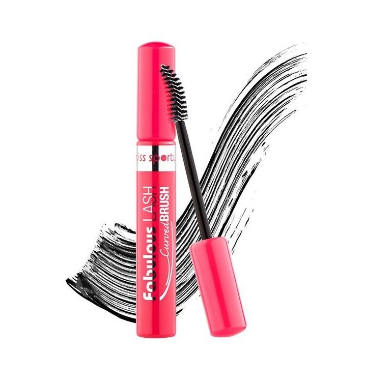 Blakstienų tušas Miss Sporty Fabulous Lash Curved Brush 8 ml