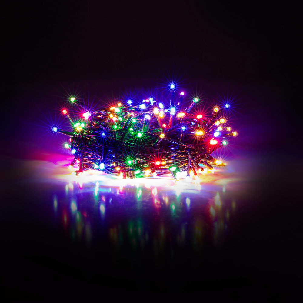 Kalėdinė girlianda RETLUX RXL 203 50LED Multicolour, Timer