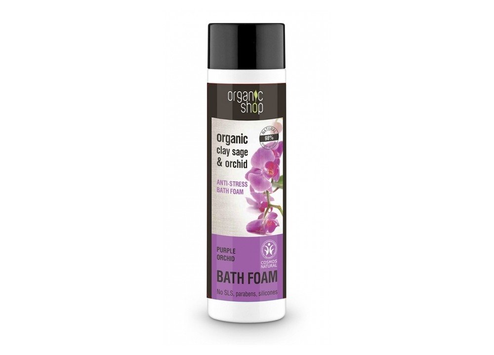 Vonios putos su vitaminais Organic Shop Purple Orchid 500 ml