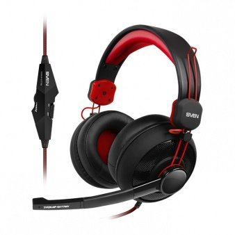 Sven AP-G777MV Gaming Headphones With Microphone Black-Red
