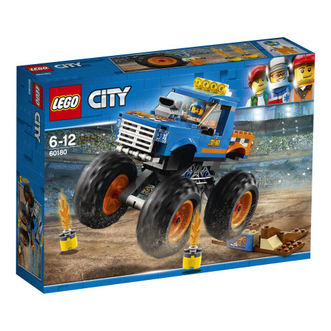 60180 LEGO® CITY Great Vehicles Sunkvežimis monstras