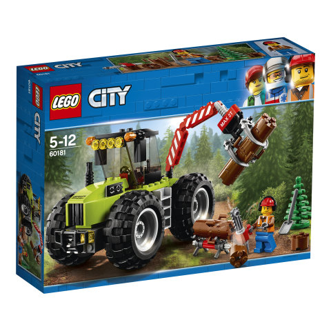 60181 LEGO® CITY Great Vehicles Miško traktorius