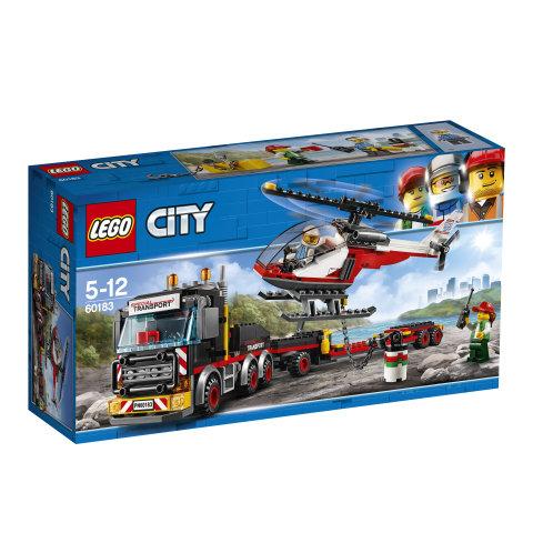 60183 LEGO® CITY Great Vehicles Sunkių krovinių sunkvežimis