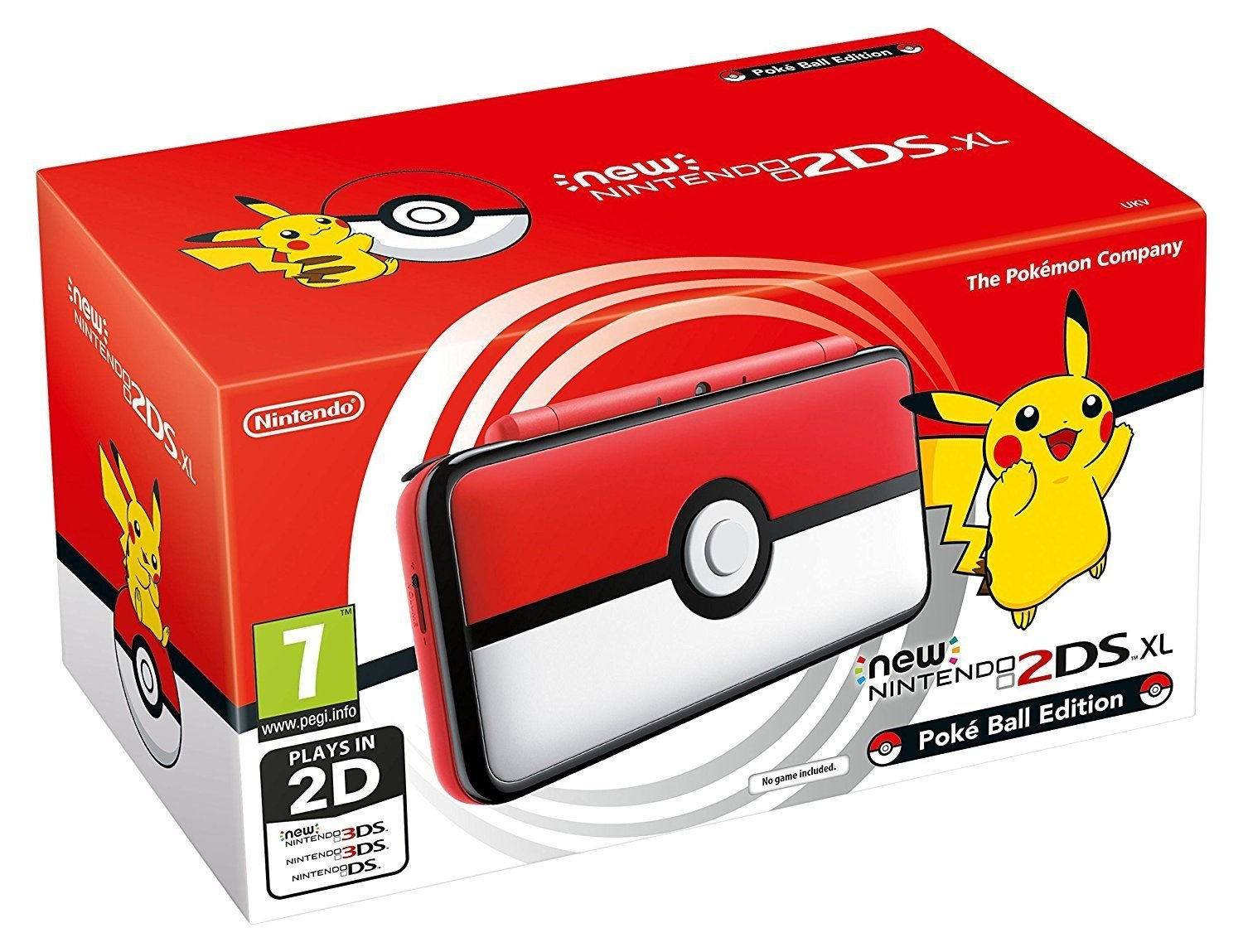 Nintendo 2DS XL Limited Edition Pokéball (2209666)