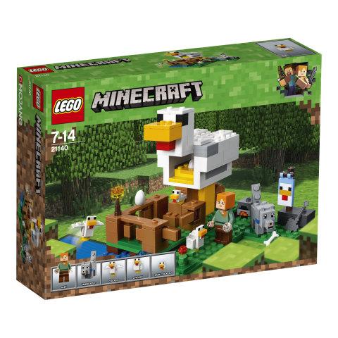 21140 LEGO® Minecraft™ Vištidė