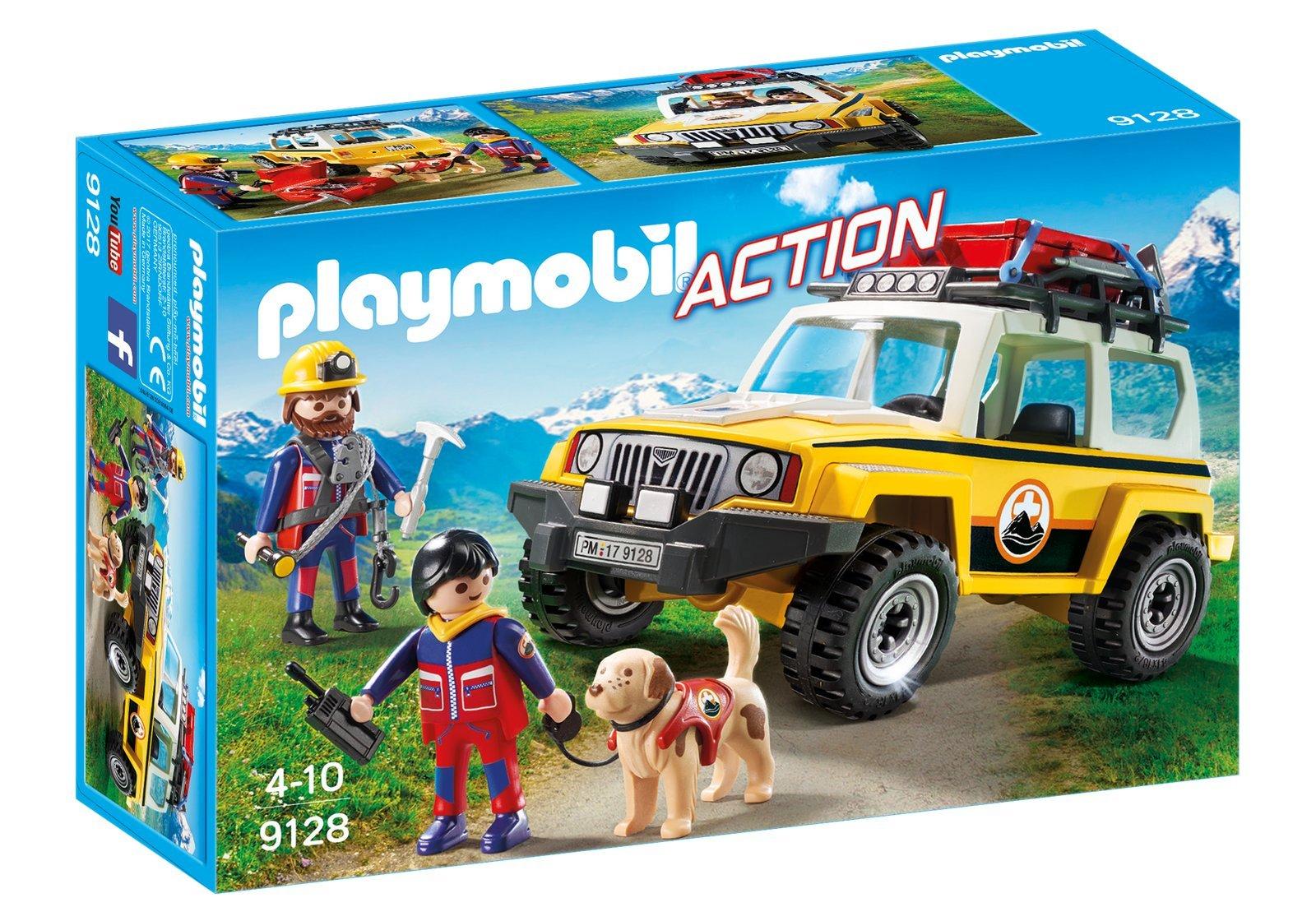 9128 PLAYMOBIL® Action, Kalnų gelbėtojų visureigis