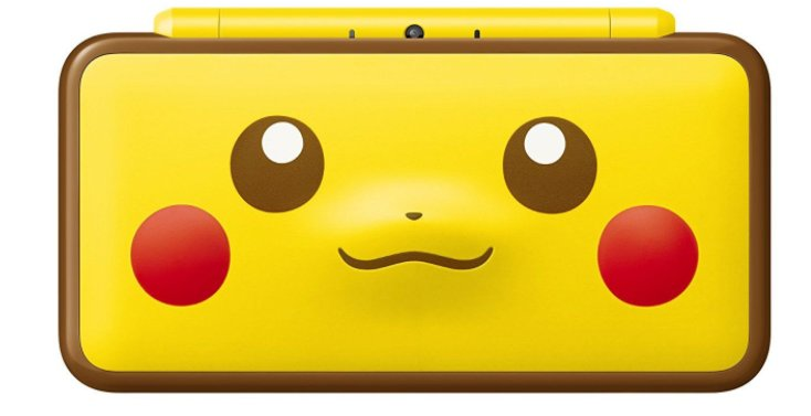 Nintendo 2DS XL - Pikachu Edition