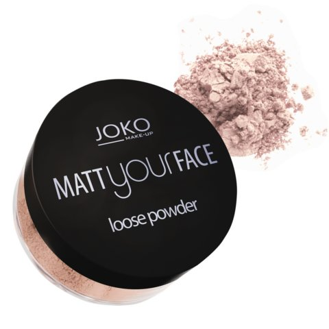 Biri matinė pudra JOKO Make-Up Matt Your Face 23 g