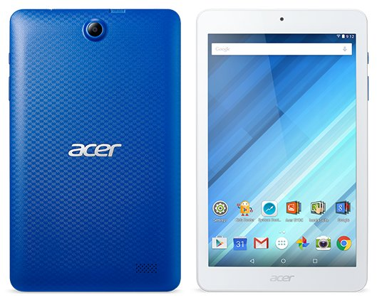 "Acer Iconia One 8 B1-850 8"", WiFi, Mėlyna"