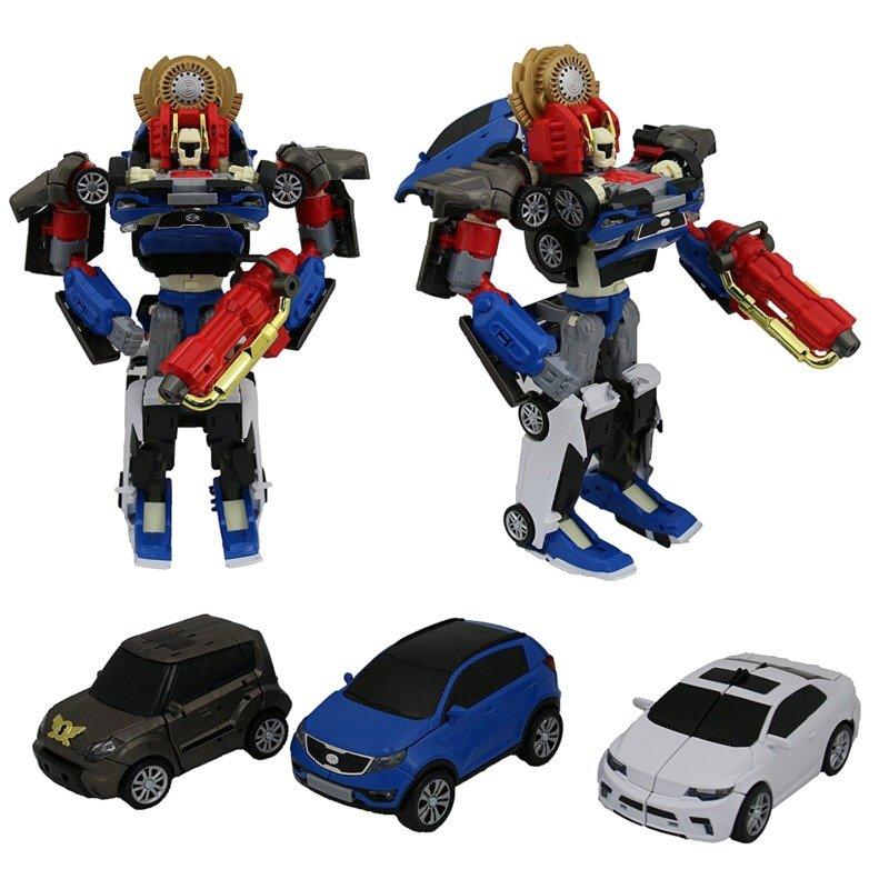 Transformeris Tobot Tritan Shield-on