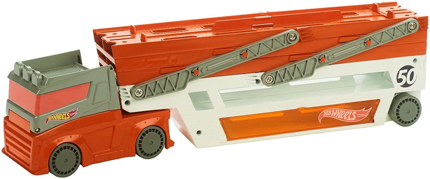 6 aukštų transporteris Hot Wheels