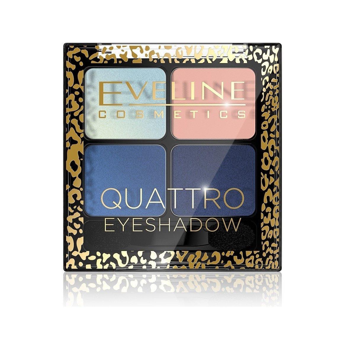 Akių šešėliai Eveline Quattro 14 No 7.2 g