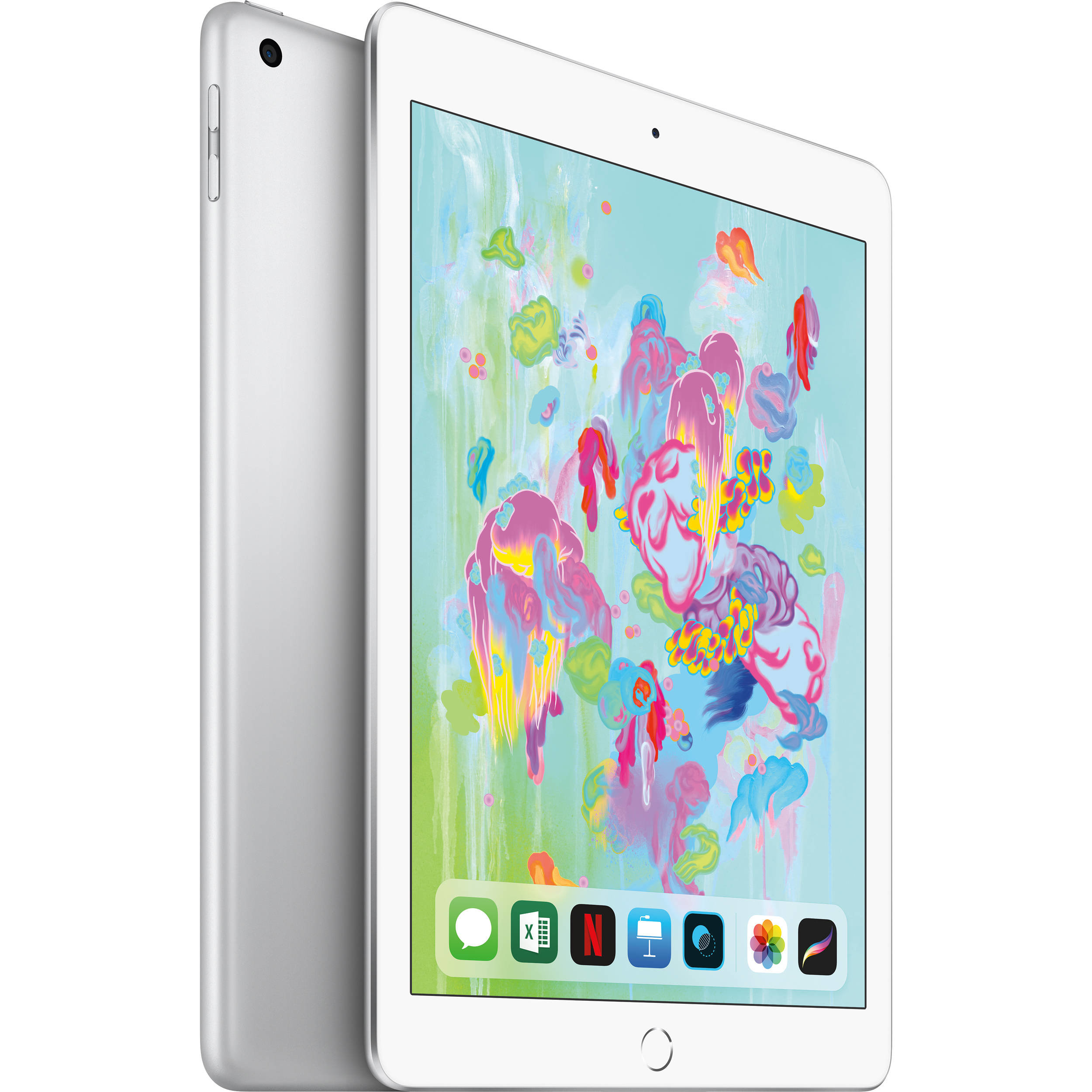 "Apple iPad 9.7"" Wi-Fi 32GB, Sidabrinė, 6th gen, MR7G2HC/A"