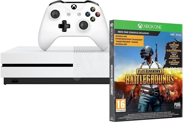 Microsoft Xbox One S 1TB + PlayerUnknowns Battlegrounds