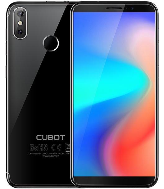 Cubot J3 Pro, Juoda