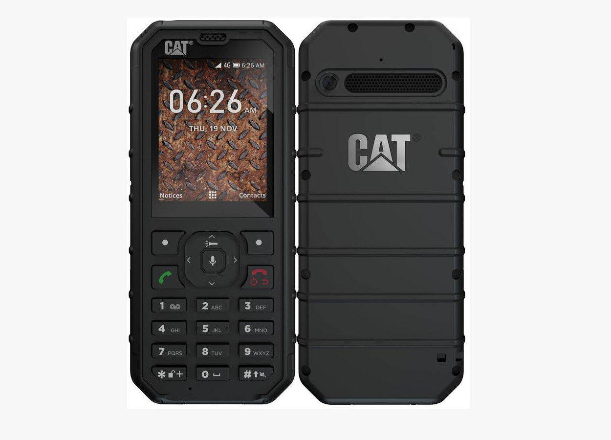 CAT B35, Dual SIM 4GB, Black