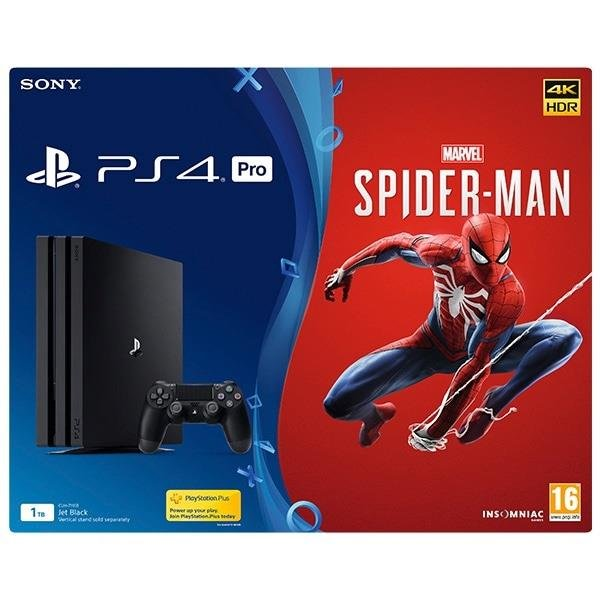 Sony Playstation 4 PRO 1TB + Spiderman